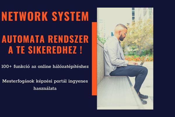 A NETWORK SYSTEM CSOMAGJAI ÉS FUNKCIÓI