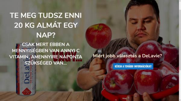 Te meg tudsz enni 20 kg almát egy nap?