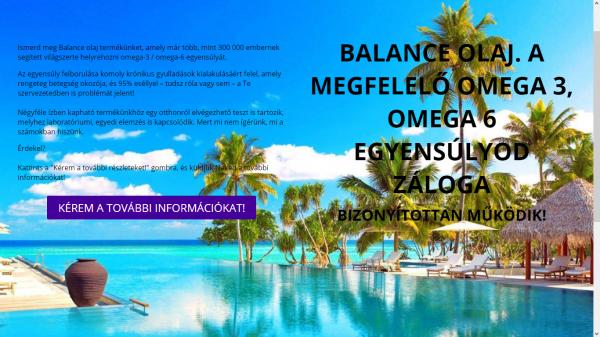 Balance olaj. A megfelelő omega 3, omega 6 egyensúlyod záloga