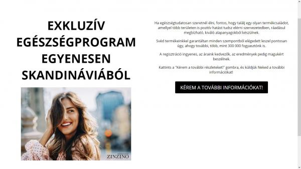 Exkluzív egészségprogram egyenesen Skandináviából