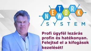 Hatékony ügyfél lezárás a Network System segítségével.